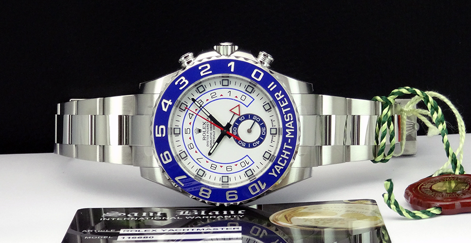 rolex yachtmaster 2 stainless
