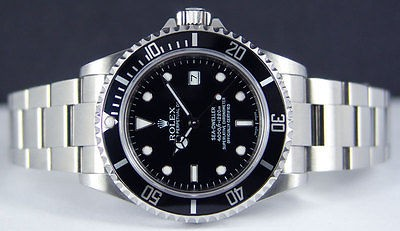 ROLEX - 40mm Stainless Steel Sea-Dweller - Black Index Dial - 16600