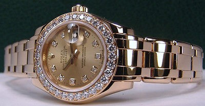 ROLEX - Ladies MasterPiece DIAMOND PearlMaster Model 80298 - SANT BLANC