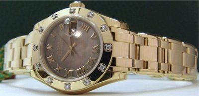 ROLEX - MASTERPIECE Ladies DIAMOND Pearl Master 80318