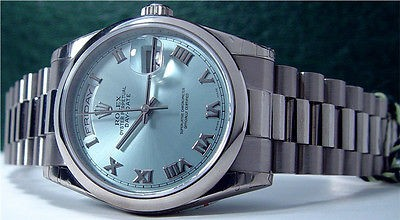 Rolex Day Date Ice Blue