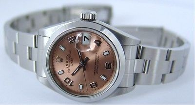 ROLEX - SS Ladies DateJust Rose Arabic Dial - 79160 SANT BLANC