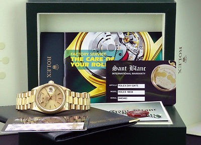Watches Gold Rolex