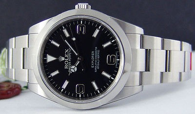 ROLEX - Stainless Steel Explorer - Black Dial - 214270 SANT BLANC