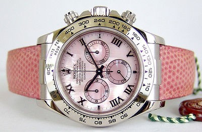 ROLEX White Gold DAYTONA PINK Mother Of Pearl - 116519