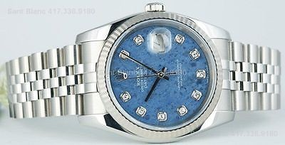 ROLEX - Men's SodaLite Diamond DateJust Model - 116234 SANT BLANC