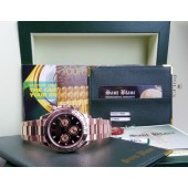ROLEX - 18kt Rose Gold Daytona Black Index Dial - 116505 SANT BLANC