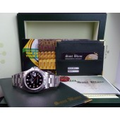 ROLEX - 40mm Stainless Explorer II BLACK Dial Model 16570 SANT BLANC