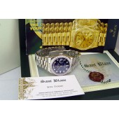 ROLEX - Platinum Day-Date President 36mm Blue Diamond Dial 118206