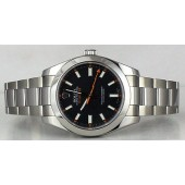 ROLEX - Mens 40mm Stainless Steel MILGAUSS