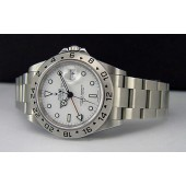 ROLEX - Stainless Steel Explorer II White Dial - Model 16570 - SANT BLANC