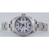 ROLEX - Ladies SS DateJust White Arabic Dial - 79160 SANT BLANC