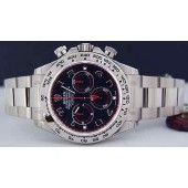 ROLEX UNWORN - White Gold Black-Red DAYTONA - 116509