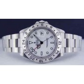 ROLEX - Mens 40mm SS Explorer II White Index Dial SEL - 16570 SANT BLANC
