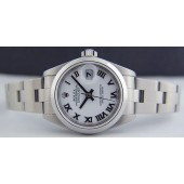 ROLEX - Ladies 26mm Stainless Steel DateJust - White Roman 79160 SANT BLANC