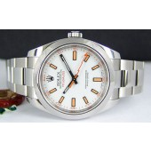 ROLEX - Stainless Steel, 40mm MILGAUSS White Dial
