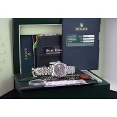 ROLEX - 2013 18kt White Gold and Stainless Steel DATEJUST MidSize 31mm Sparkle DIAMOND 178344