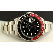 ROLEX - Stainless GMT Master II SEL Red-Black 16710 SEL SANT BLANC
