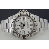 ROLEX - Mens 40mm SS Explorer II - White Index Dial - 16570 SANT BLANC