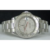 ROLEX - Platinum & Stainless MidSize YachtMaster 168622