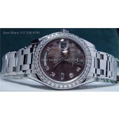ROLEX Platinum Mother Of Pearl MASTERPIECE Model 18946