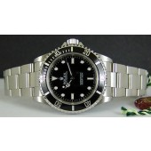 ROLEX - SS 40mm SUBMARINER No-Date Black Index Dial - 14060 SANT BLANC