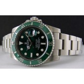 ROLEX -  SUBMARINER Green Ceramic Bezel - 116610 - SANT BLANC