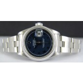ROLEX - Stainless Steel Ladies DateJust Blue ROMAN Dial - 79160 SANT BLANC