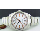 ROLEX - 2013 Stainless Steel 40mm MILGAUSS White Dial - 116400