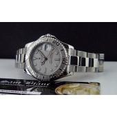 ROLEX - YachtMaster Midsize Platinum & Stainless 168622