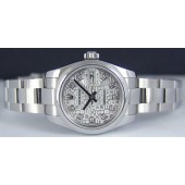 ROLEX - Ladies Stainless Silver Jubilee Diamond DateJust - 179160 SANT BLANC