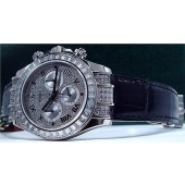 ROLEX - 18kt White Gold Daytona Full Diamond Model - 116599 TBR