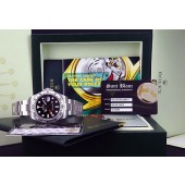2014 ROLEX - 42mm JUMBO Stainless Explorer II Black Dial 216570