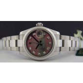 ROLEX - Ladies Stainless 26mm DateJust Tahitian MOP Diamond - 179160 SANT BLANC