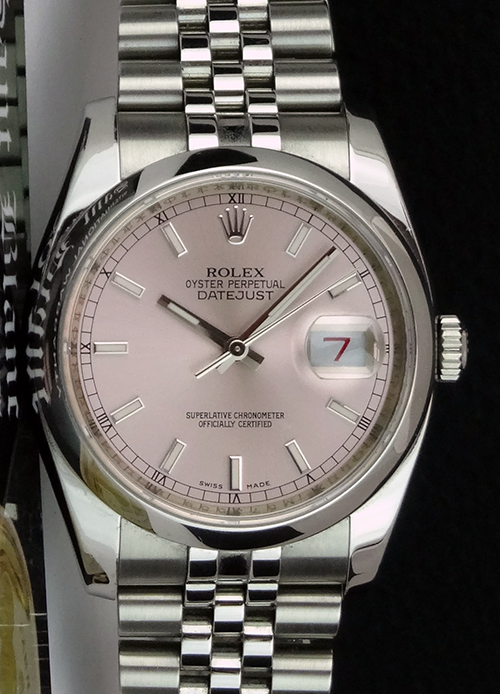 Rolex Datejust Rose