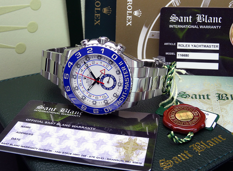 Men's Rolex Yacht-Master II in Rolex Box