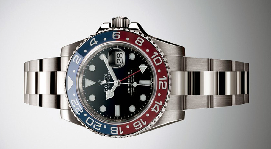 "In 2014, Rolex introduced to Blue and Red ""Pepsi"" Ceramic bezel to the GMT Master II line-up."
