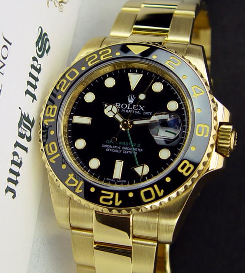 Rolex Gmt Master Ii Gold Review