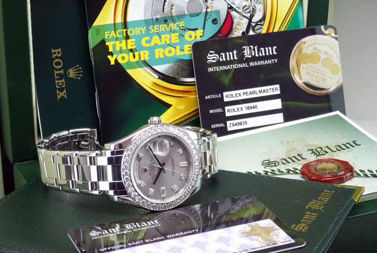 Men's Rolex Pearlmaster 18946 in Rolex Box