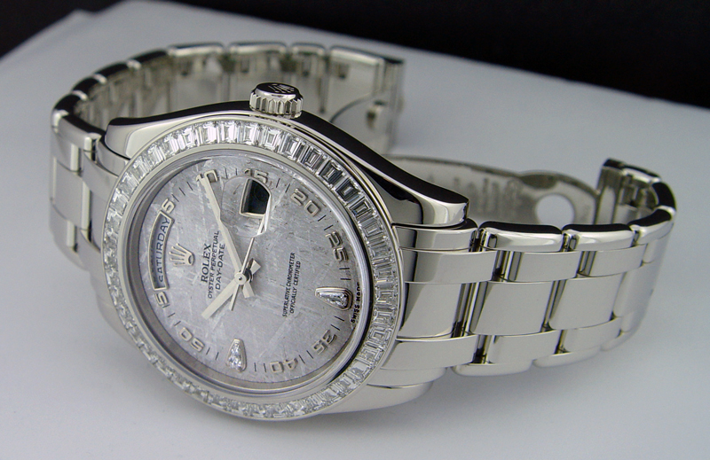 Platinum Rolex Day Date