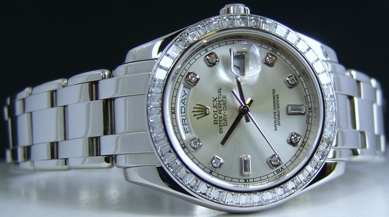 Mens Rolex Masterpiece