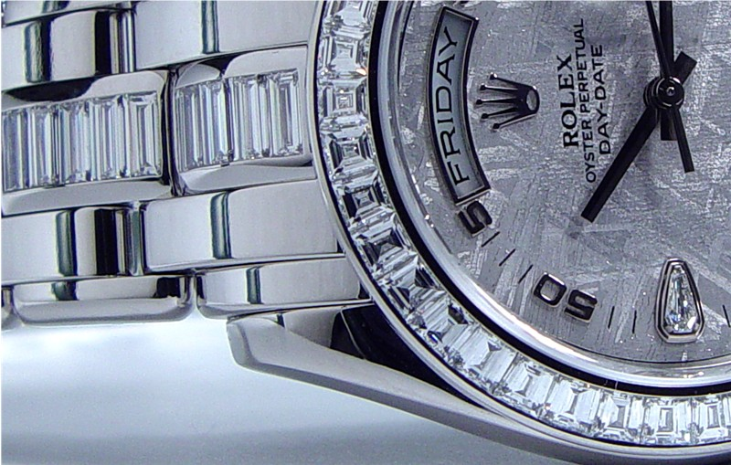 ROLEX - 39mm Platinum Diamond PEARLMASTER 18956
