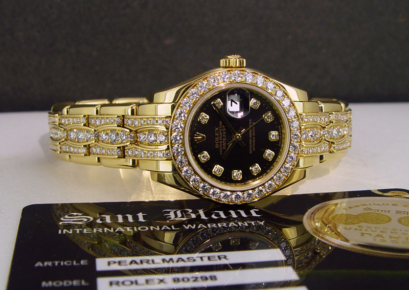 Rolex Ladies Pearlmaster