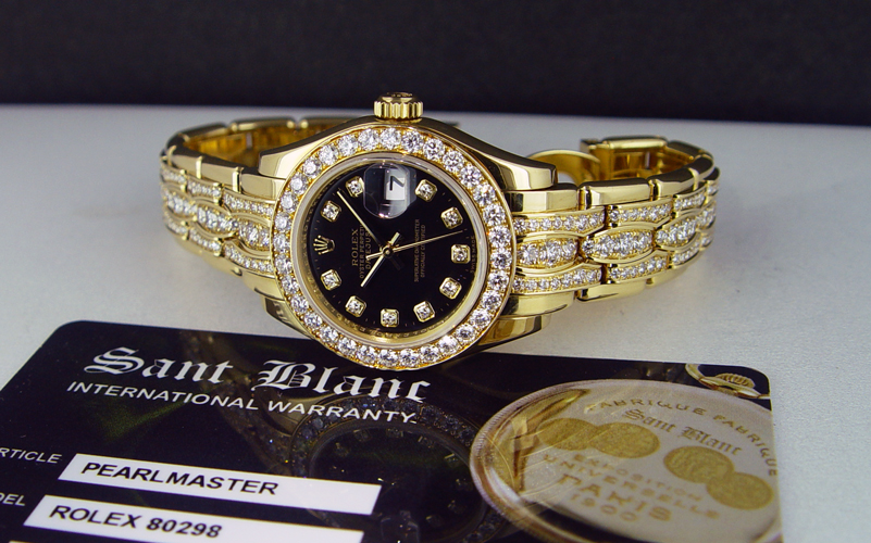 Rolex 80298, Triple Row Diamond
