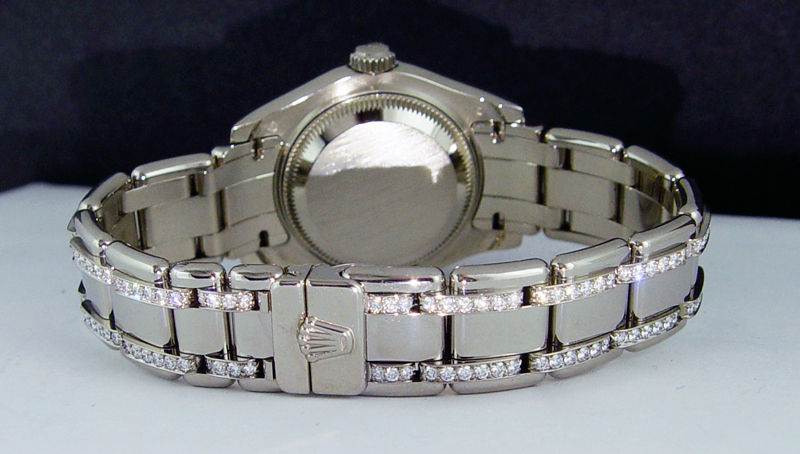Ladies Diamond Rolex Bracelet