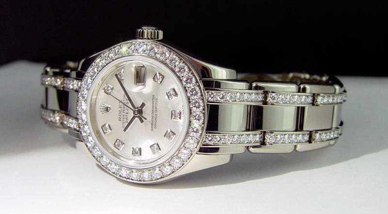 White Gold Ladies Rolex